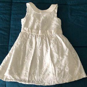 White Janie and Jack dress